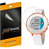 (6 Pack) Supershieldz for Pebble Time Round 14mm and Pebble Time Round 20mm Screen Protector, High Definition Clear Shield (PET)