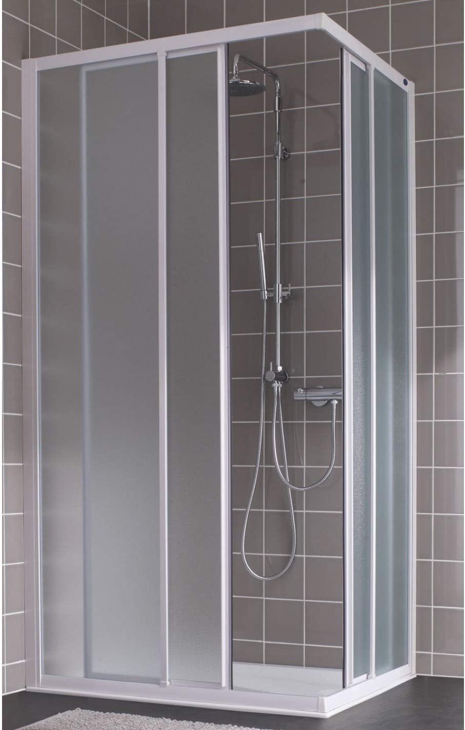 Mampara de ducha D?Ángulo deslizante vidrio apariencia Atout 2 ...