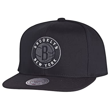 Mitchell & Ness – Gorra nutek Brooklyn Nets negro Talla única ...