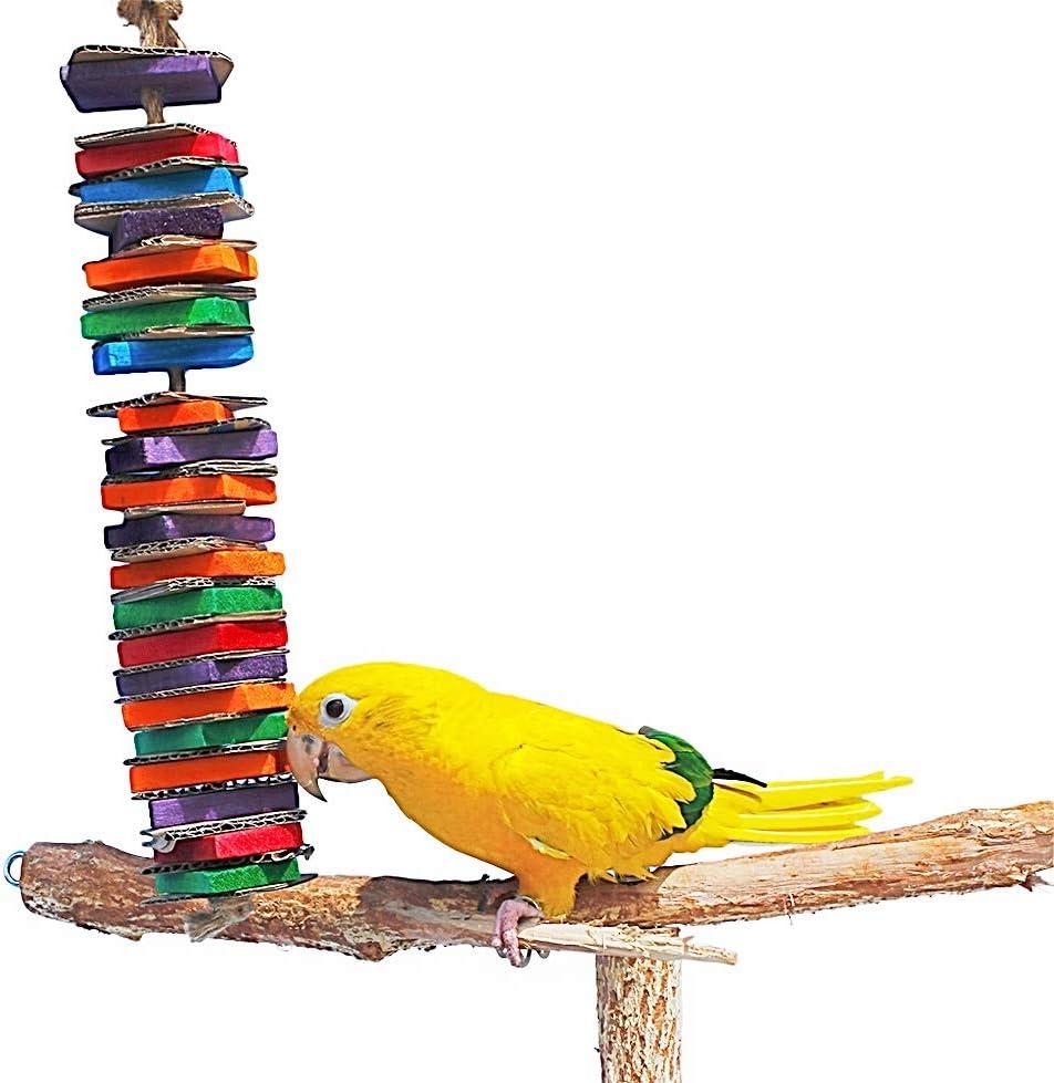 Birds LOVE Chew-Tastic Tower of Shredded Fun
