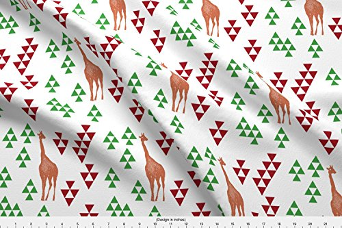 Imgur Fabric Fabric Giraffe With Upvote Downvote Arrows By Bella Modiste Printed On Eco Canvas Fabric By The Yard By Spoonflower