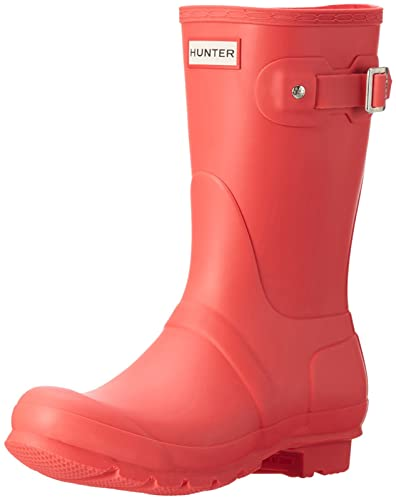 HUNTER Womens Original Tall Femmes Botte En Caoutchouc Rouge WFT1000RMA YchNUO1