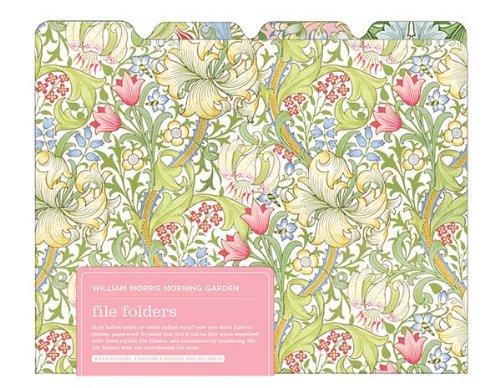 V&A William Morris Garden 8 File Folders