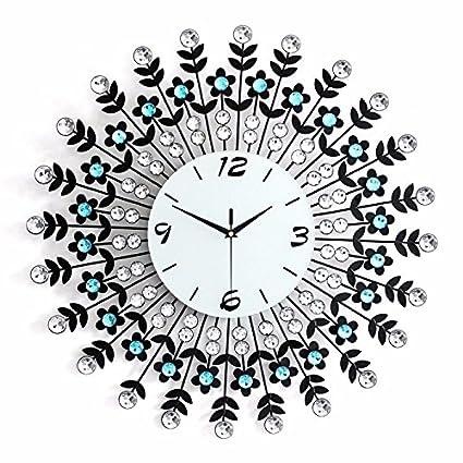 G. Medalis Wall Clock Quartz Design Non-ticking Silent Home/Kitchen/Office