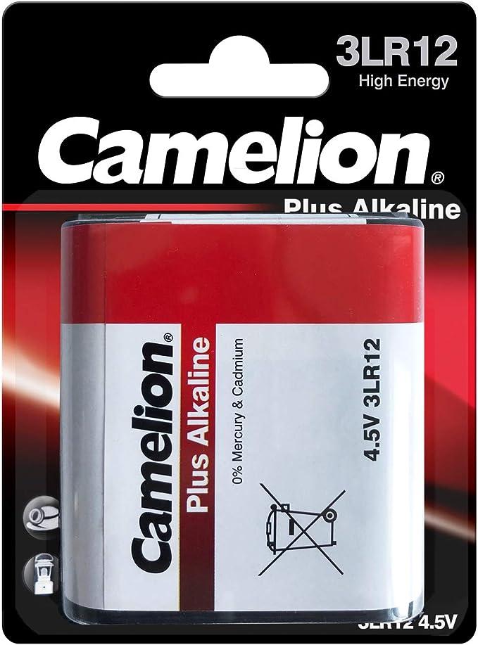 Camelion 11000112 Plus Alkaline Batterie 3lr12 4 5 Volt 1er Pack