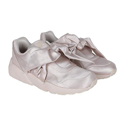Puma Women Bow Sneaker Womens Pink Tint