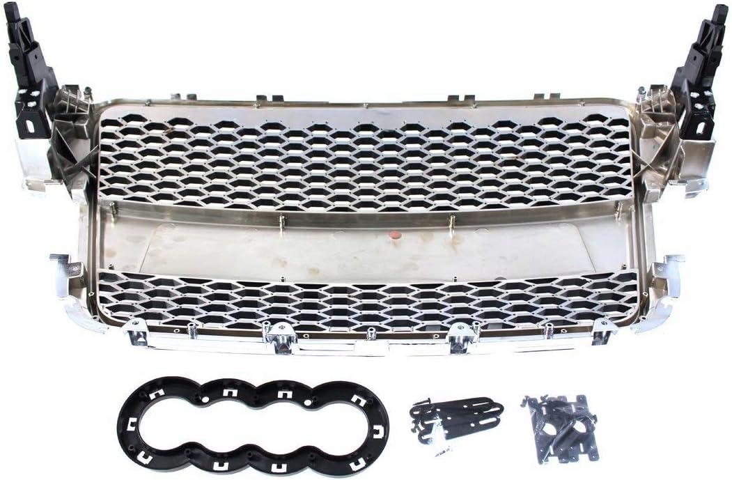 V-Maxzone M-4420 Calandre sport A5 8T RS-Style Chrom/é//noir