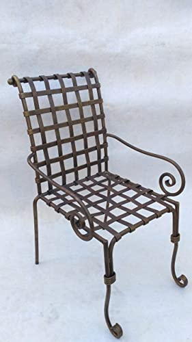 Amazon.com: Chair, metal chair, metal furniture, stool chair ...