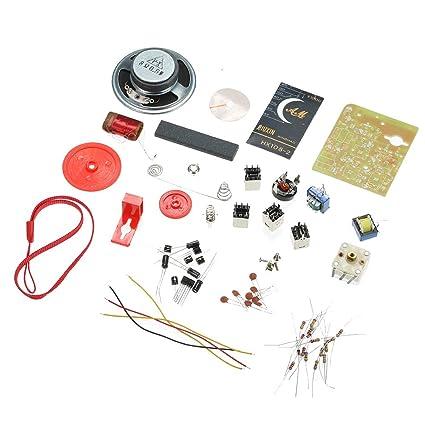 KKmoon HX108-2 Seven Tube AM Radio Kit 525-1605KHZ DIY