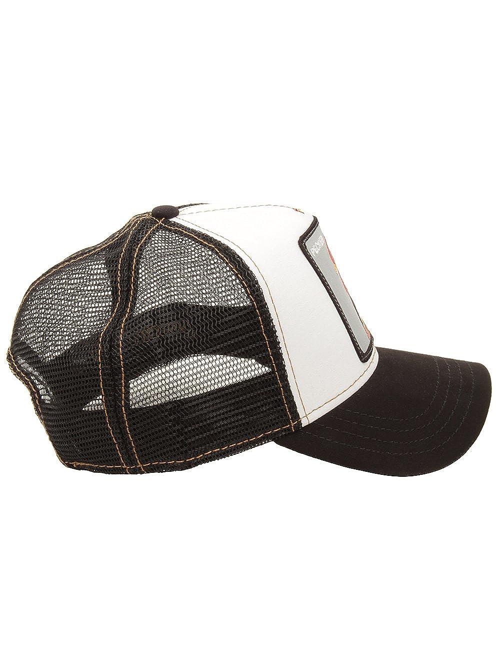 151d9a9780a6e Goorin Bros Men s  Pecker  Rooster Patch Plucker SnapbackTrucker Hat Cap ( Black)  Amazon.ca  Clothing   Accessories