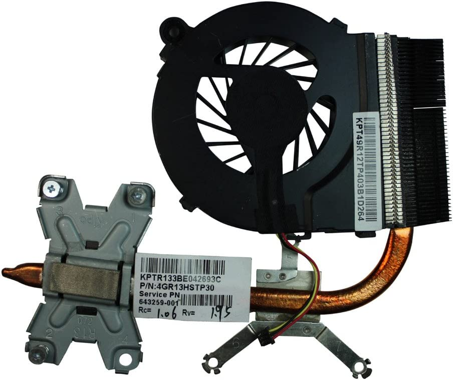 HP Pavilion G4-1001TU Please Check The Picture Power4Laptops Version 1 HP 646578-001 Replacement Laptop Fan with Heatsink for HP 643259-001 HP Pavilion G4-1000 HP Pavilion G4-1001TX