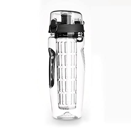Botella de agua deportiva 1000ML, BPA Contenedor de agua ecológica, botellas reutilizables Botellas de