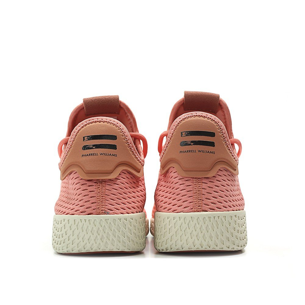 adidas Men's Pw Tennis Hu Sneaker B074RSRRGX 5 D(M) US|Tactile Rose / Raw Pink