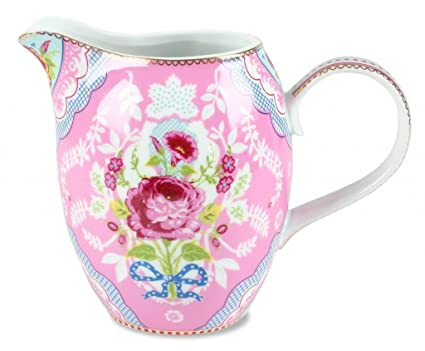 Pip Studio Antique Rose Pink Porcelain 32 Oz Jug Pitcher  sc 1 st  Amazon.com : pip tableware - pezcame.com