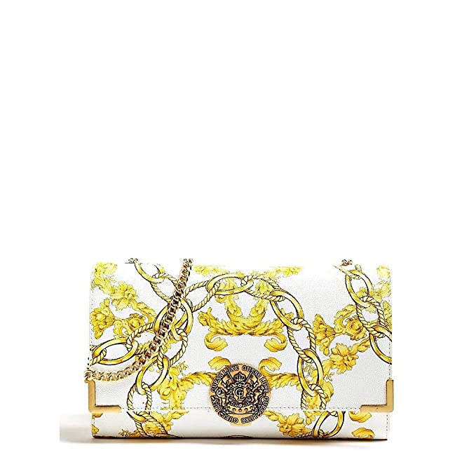 Guess BELLE CROSSBODY FLAP WML WHITE MULTI: