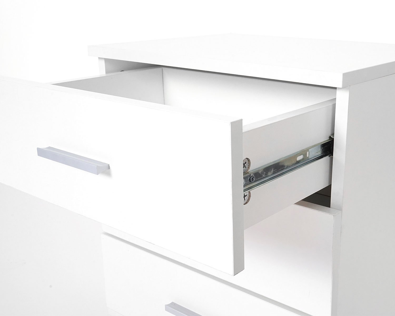 Ufficio Moderno Pavia : Cassettiera comodino pavia t design moderno cm bianco