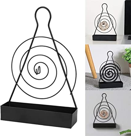 Mosquito//Midge Repellent Coil Holder Incense Burner for Home Camping Outdoor