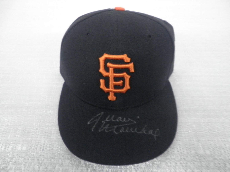 Juan Marichal Autographed Signed San Francisco Giants New Era 59/50 7 1/4 Cap Hat JSA Authentic Memorabilia