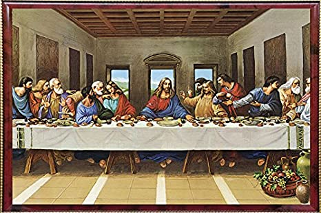 Buy Pictoreal Last Supper 3d Photo Frame Online At Low Prices In