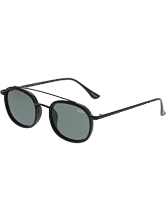 df8ae3a7517 Image Unavailable. Image not available for. Color  Quay Australia Got It Covered  Sunglasses in Black Green