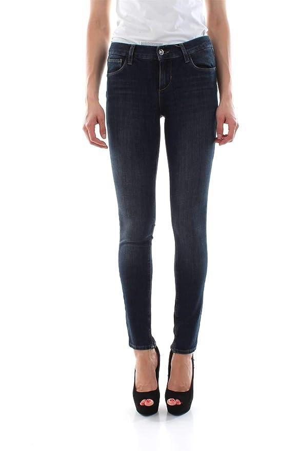Liu Jo UXX32D4028 Pantalones Vaqueros Mujer: Amazon.es: Ropa ...