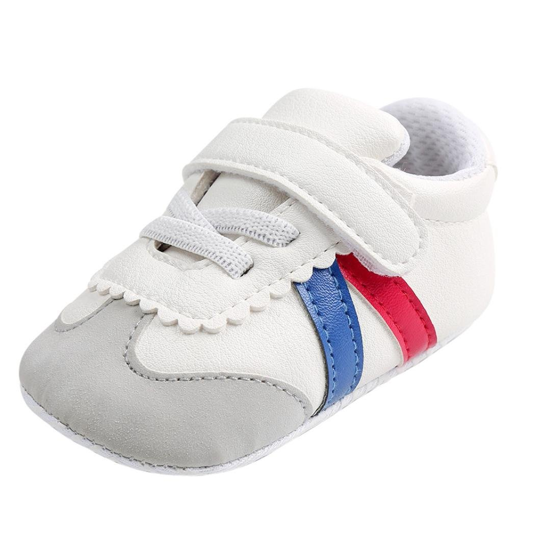 KONFA Toddler Infant Baby Boys Girls Soft Sole Sneakers, for 0-18 Months, Anti-slip First Walkers Crib Shoes KONFA_Baby Shoes