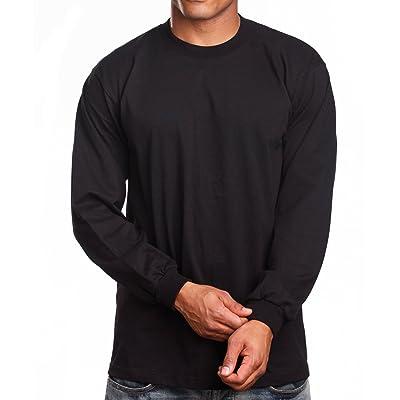 PRO 5 Super Heavy Mens Long Sleeve T-Shirt: Clothing