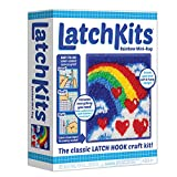 Arts & Crafts : Latch Kits Rainbow Mini-Rug Sewing Kit
