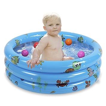 Baignoire Enfants Gonflable pour Bébés, Piscine gonflable pour bébé, Baignoire Anti Glissante Pliable Voyage Epais Bébé Bain Douche Bassine