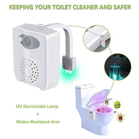 Wc Nachtlicht Woniu Uv Sterilization Led Toilette Licht Lampe Mit