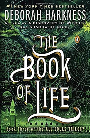The Book of Life: A Novel (All Souls Trilogy) - Island Company Blue Oxford