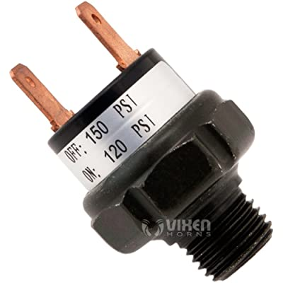 Vixen Horns VXA7150 120/150 Pressure Switch: Automotive
