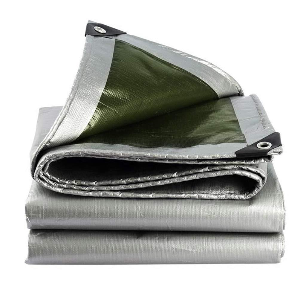 ターポリン 超軽量ターポリン 厚い防水シート アウトドア旅行キャンプ用家庭用ピクニック用品カバーキャンプ登山釣りトラックペットのビーチに適しています (サイズ さいず : 4 * 8m) 4*8m  B07JW9HGS9