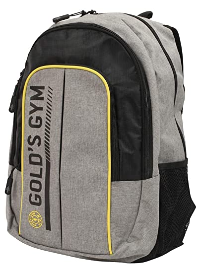 24b4dc820ca5 Golds Gym Contrast Printed Training Workout Fitness Travel Backpack Rucksack  Bag  Amazon.co.uk  Clothing