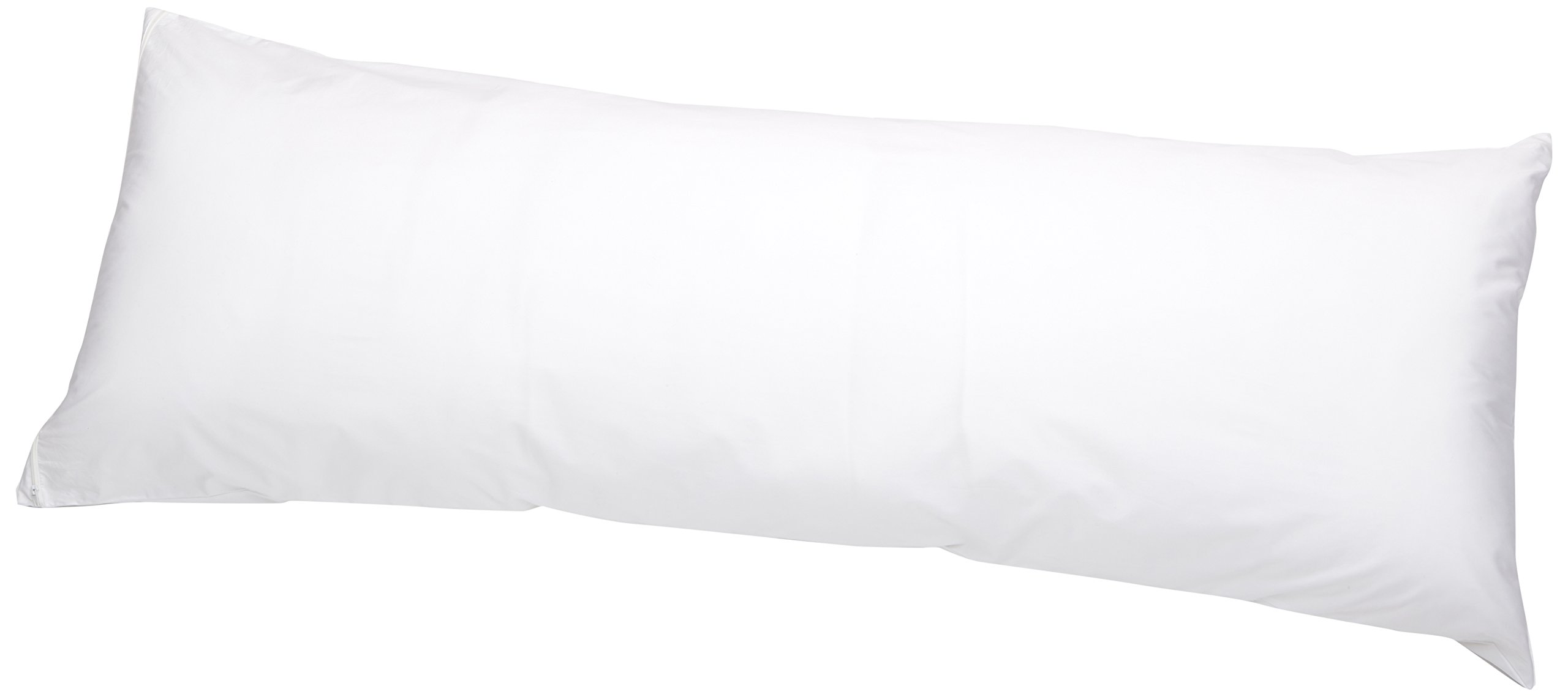 AmazonBasics Hypoallergenic Pillow Protector, White, Body