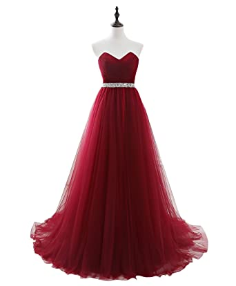 Beauty-Emily Strapless Multi-layer Sequins Sleeveless Lace-Up Elegant Formal  Evening Dresses efa9d5482