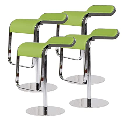Prime Mlf Lem Style Piston Bar Stool Adjustable 27 2 33 1 Smooth Hydraulic Piston 360 Degrees Swivel Spin Smooth Green Italian Leather Seat Pdpeps Interior Chair Design Pdpepsorg