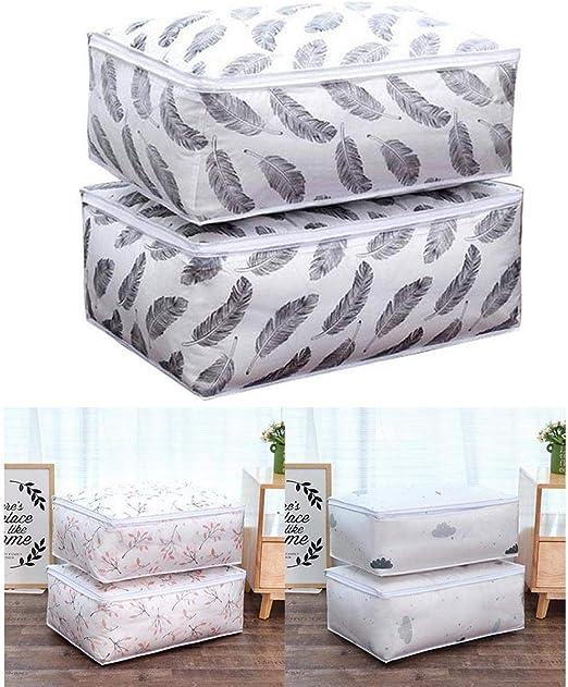 Quilt Storage Foldable Design Blankets Pillow Sheet Storage Moistureproof Bag