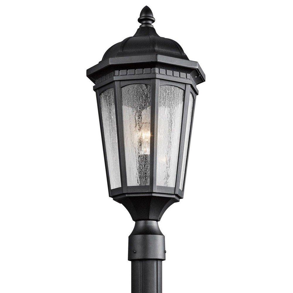 Kichler 9532BKT One Light Outdoor Post Mount