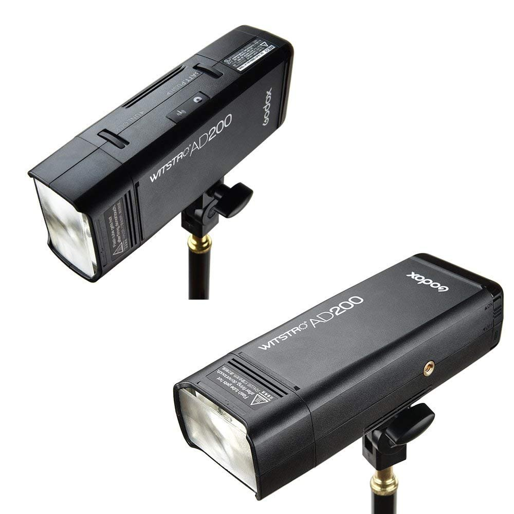 Godox AD200 TTL 2.4G HSS 1/8000s Pocket Flash Light Double Head 200Ws with 2900mAh Lithium Battery by Godox (Image #6)