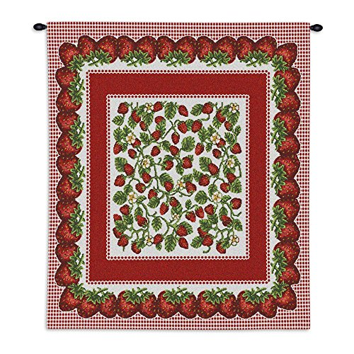 Tapestry Strawberry Festival (Pure Country Strawberry Festival Wall Tapestry)