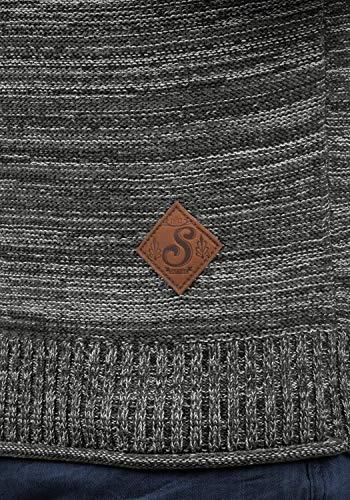 Suéter Black Algodón Hombrecon Para 9000 Punto Melker Jersey solid Sudadera De Capucha 100 4ZqCICwP