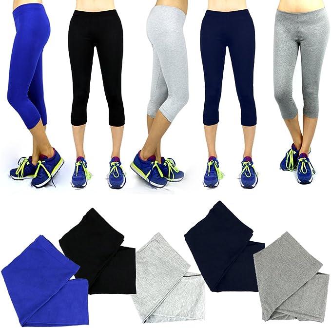 The Elixir Fashion Women Yoga Pants Carpri Style, Plus Size