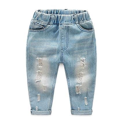 Havanadd Jeans para bebés y niños pequeños Pantalones de ...