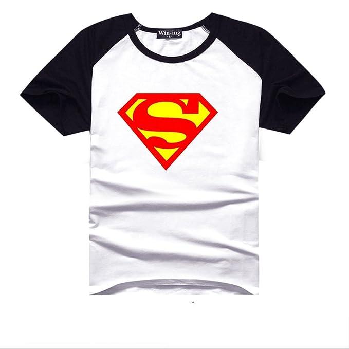 Superman Bandera de Estados Unidos Logo DC Comics camiseta para adulto