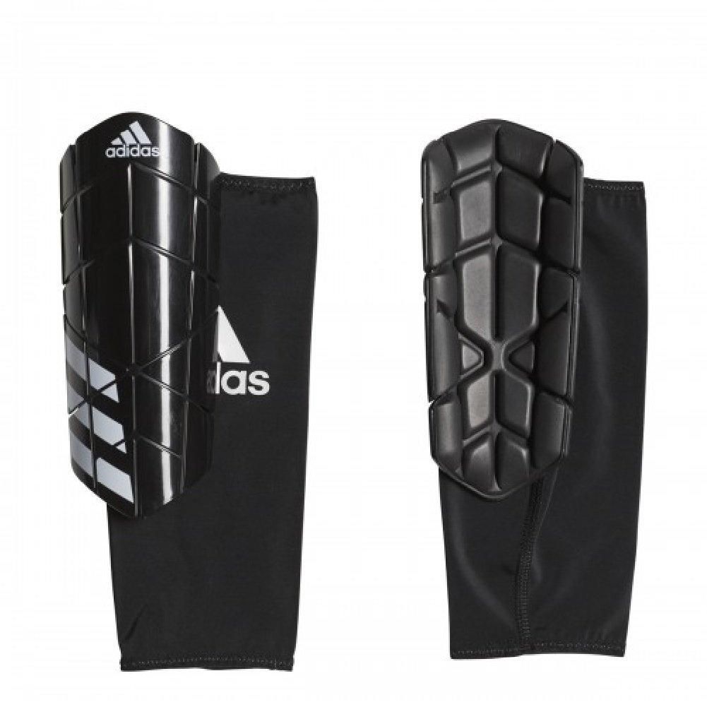 Adidas Ever Proサッカーすね当てブラック/ホワイトM   B07D8FMKM7
