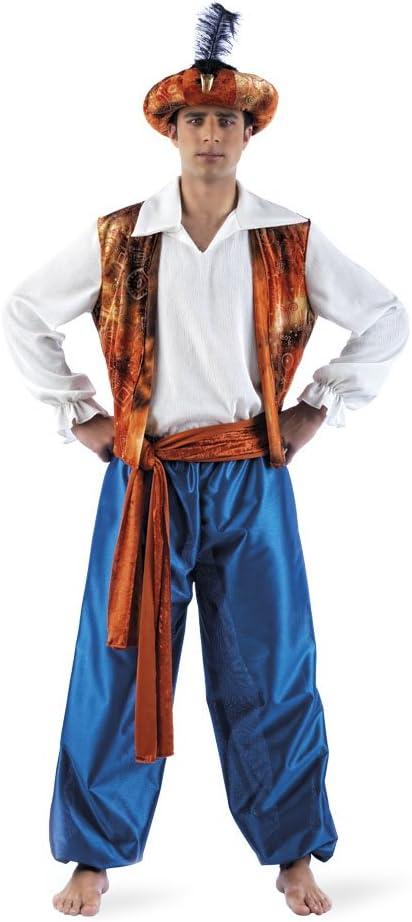 Limit Sport - Disfraz de tuareg Aladín para hombre, talla M (MA162 ...