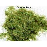 WWS Summer 4mm Mix Model Basing Static Grass 100g G,O,HO/OO,TT,N.Z Wargames