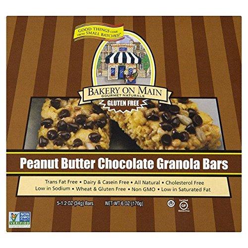 Bakery On Main Peanut Choc Chip Granola Bar - 5 per (Choc Chip Crisp)