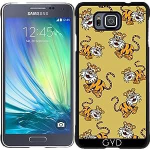 Funda para Samsung Galaxy Alpha - Un Tigre Sonriente by zorg
